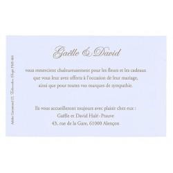 faire part de mariage arabesque gris calque pochette buromac 100008. Black Bedroom Furniture Sets. Home Design Ideas