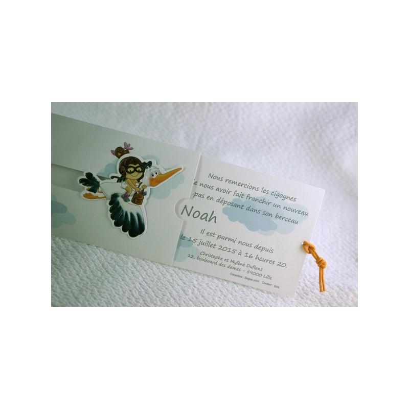 faire part naissance humoristique coulissant cigognes faire part select petite for t 89369c. Black Bedroom Furniture Sets. Home Design Ideas
