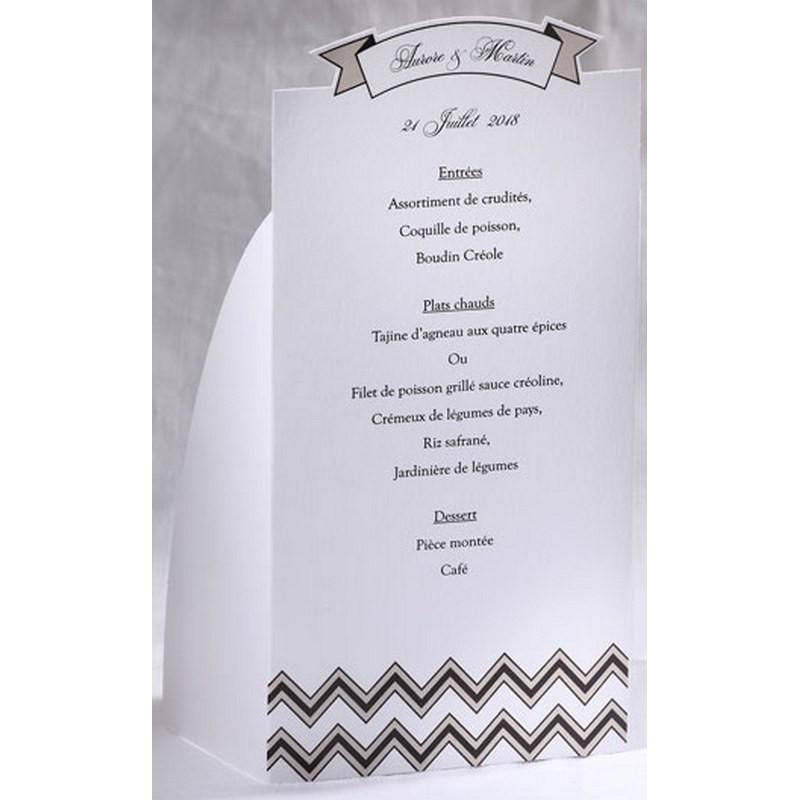 menu mariage blanc vintage noir taupe faire part select With commentaire faire couleur taupe 3 menu mariage blanc vintage noir taupe faire part select