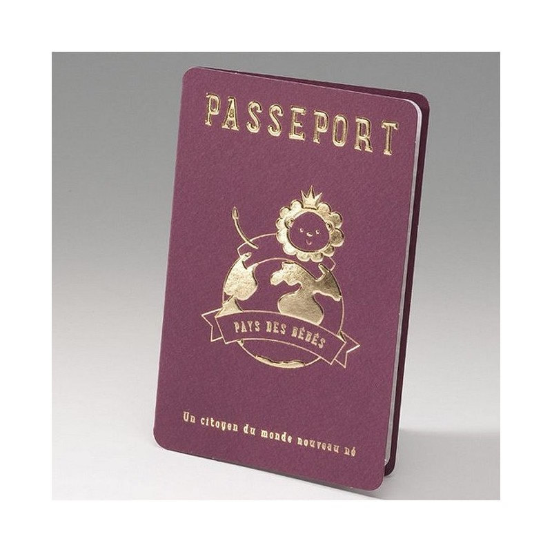 faire part naissance original passeport belarto happy baby. Black Bedroom Furniture Sets. Home Design Ideas