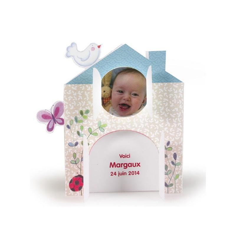 faire part de naissance pop up maison dans la foret busquet 3100516317e. Black Bedroom Furniture Sets. Home Design Ideas