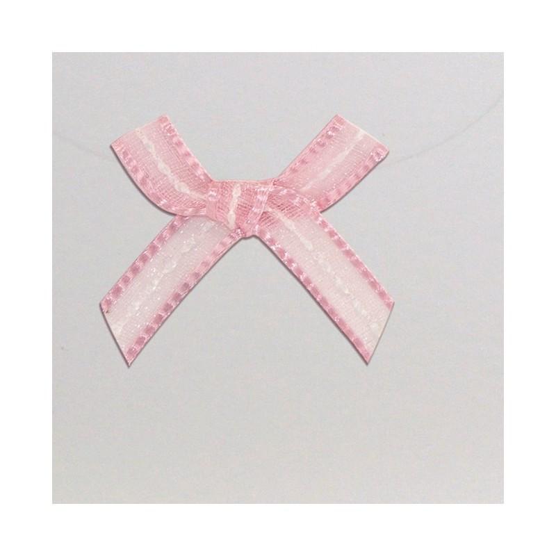 faire part naissance classique blanc fille noeud rose regalb carrousel cj7308. Black Bedroom Furniture Sets. Home Design Ideas