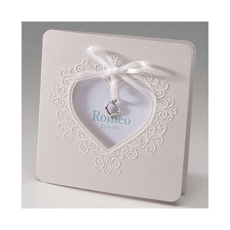 faire part de naissance elegant creme coeur belarto baby dreams 715065. Black Bedroom Furniture Sets. Home Design Ideas