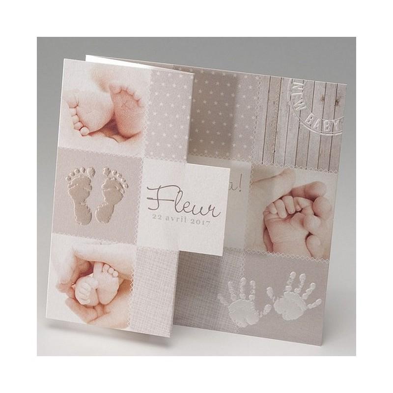 Populaire part de naissance vintage pieds main Belarto Baby Dreams 715096 MD04