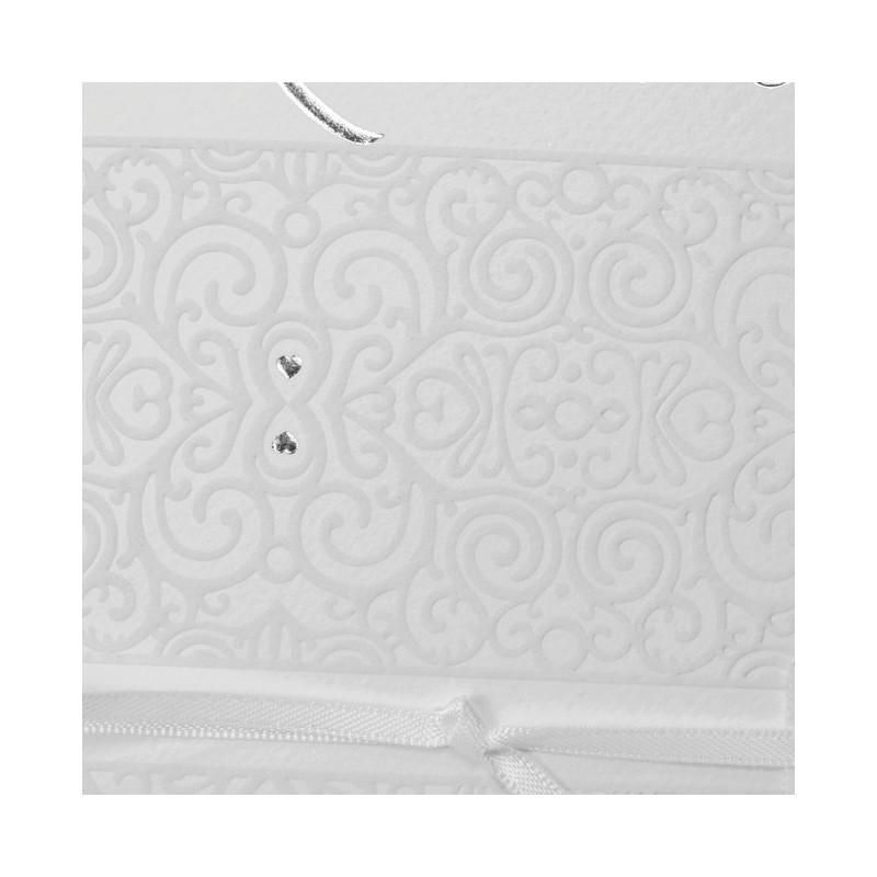 faire part mariage oriental blanc arabesque nacre regalb sherazade j3102. Black Bedroom Furniture Sets. Home Design Ideas