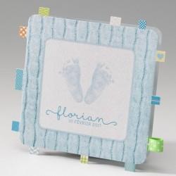 Faire-part de naissance original garcon bleu pieds Belarto Baby Dreams 715017