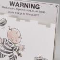 Faire-part naissance humoristique bébé prisonnier Belarto Naissance 2020 610001