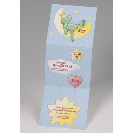 Faire-part naissance depliant humoristique  Belarto Happy Baby 715056
