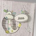 Faire-part naissance humoristique girafe Belarto Happy Baby 715114