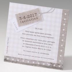 Carte remerciements naissance BELARTO Happy Baby 715310