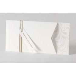 Faire-part de mariage chic pochette arabesque  Buromac Papillons 105.009