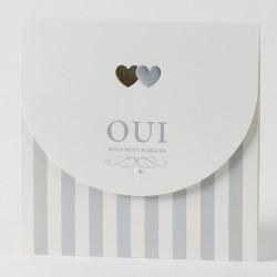 Faire-part mariage vintage lesbien  Buromac Papillons 105.079