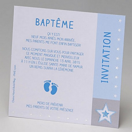 Carte remerciements naissance BELARTO 715304