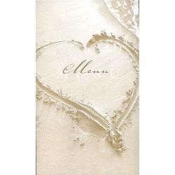 Menu mariage BUROMAC La Vie en Rose