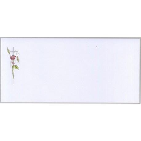 Carte de remerciement décés, deuil, funérailles, condoléances, obsèques BUROMAC 644.124