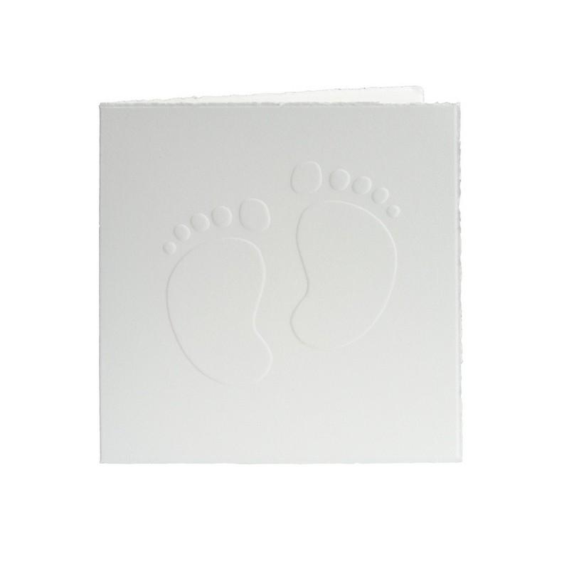 faire part de naissance classique pieds buromac chic et chouette. Black Bedroom Furniture Sets. Home Design Ideas