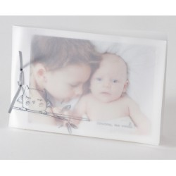 Faire part de naissance chic porte photo Buromac Baby Folly 584.134