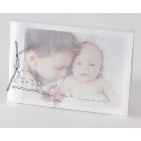 Faire part de naissance chic porte photo Buromac Baby Folly 584.134