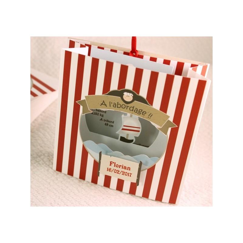 faire part naissance pop up gar on faire part select petite for t 89301g. Black Bedroom Furniture Sets. Home Design Ideas