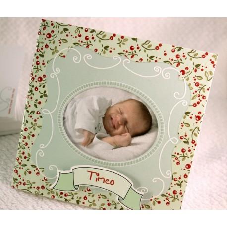 Faire-part naissance vintage photo Faire Part Select Petite Forêt 89354D