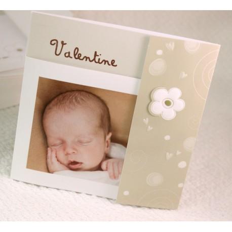 Faire-part naissance vintage photo Faire Part Select Petite Forêt 89356C