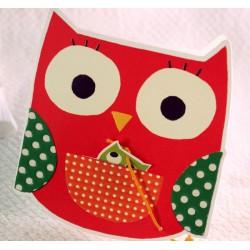 Faire-part naissance fantaisie hibou Faire Part Select Petite Forêt 89361D