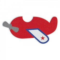Motif Avion Rouge - Buromac 553.035