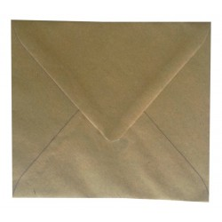 Enveloppe Marron Recyclée 125 x 140 - Belarto 8221214