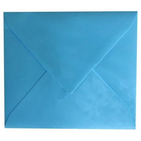 Enveloppe Bleu Cyan 125 x 140 - Belarto 8111214