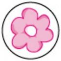 Timbre Scellage Fleur Rose - Faire Part Select BOL83