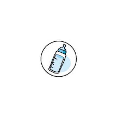 Timbre Scellage Biberon Bleu - Faire Part Select BOL86