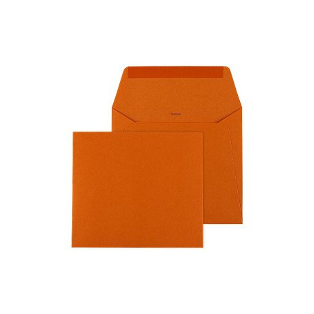 Enveloppe Orange 140 x 125 - Buromac 99.006