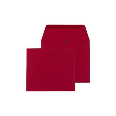 Enveloppe Rouge 140 x 125 - Buromac 99.036-p