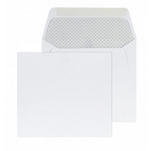 Enveloppe Spéciale Blanche Grise 140 x 125 - Buromac 99.186