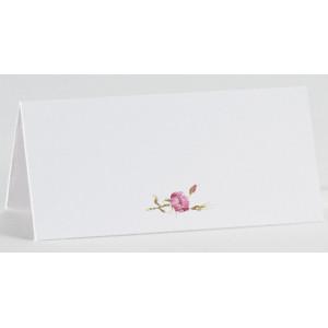 Carte de table vintage fleur rose BUROMAC La Vie en Rose 226.024