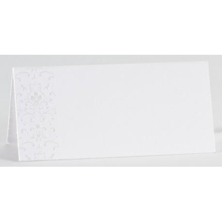 Carte de table chic arabesque nacre BUROMAC La Vie en Rose 226.002