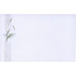Carte de remerciement décés, deuil, funérailles, condoléances, obsèques  BUROMAC 670.083