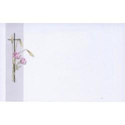 Carte de remerciement décès, deuil, funérailles, condoléances, obsèques BUROMAC 670.058