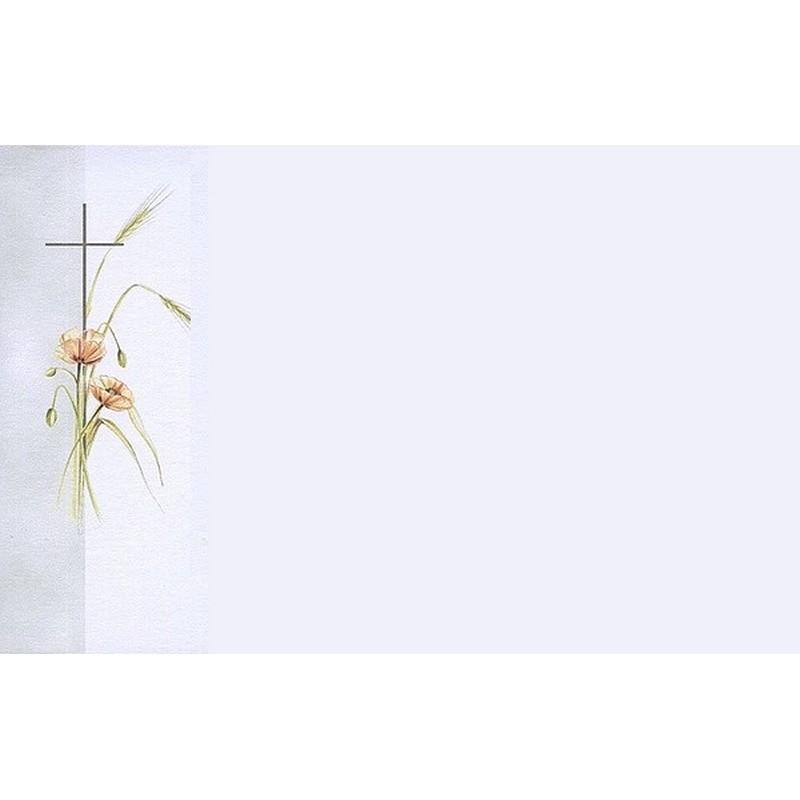 Gut bekannt Carte de remerciement décès, deuil, funérailles, condoléances  BA48