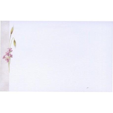 Carte de remerciement décés, deuil, funérailles, condoléances, obsèques BUROMAC 670.008