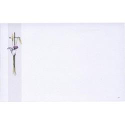 Carte de remerciement décés, deuil, funérailles, condoléances, obsèques BUROMAC 670.044