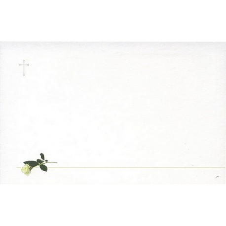 Carte de remerciement décés, deuil, funérailles, condoléances, obsèques BUROMAC 678.041
