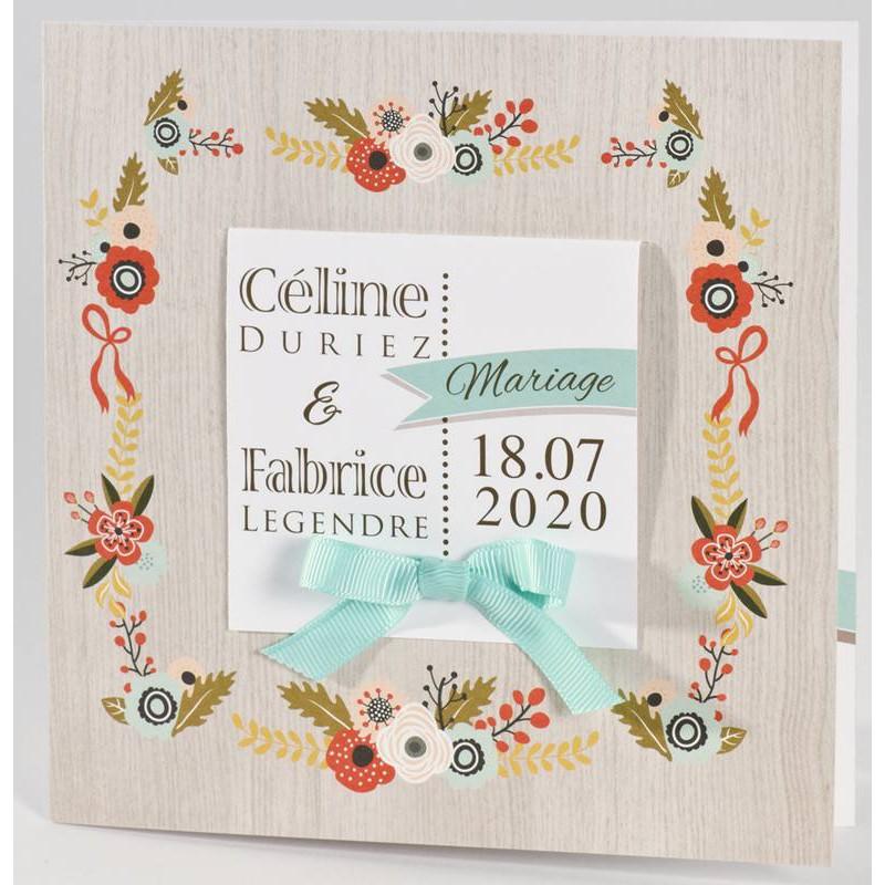 Connu part mariage nature fleur multicolore Buromac La Vie en Rose 106.035 MX61