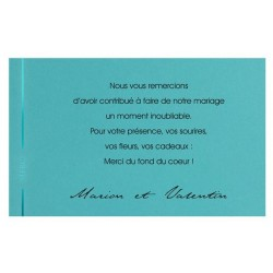 Carte lunch ou remerciements REGALB KC2169