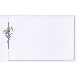 Carte de remerciement décés, deuil, funérailles, condoléances, obsèques BUROMAC 641.005