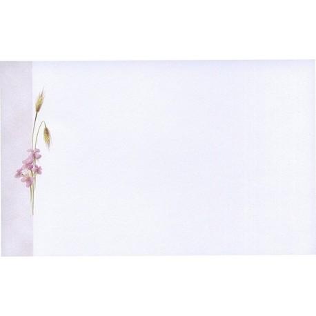 Carte de remerciement décés, deuil, funérailles, condoléances, obsèques BUROMAC 641.008