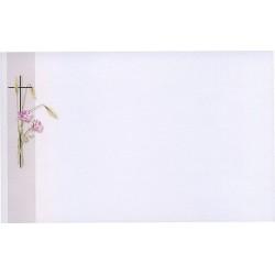 Carte de remerciement décés, deuil, funérailles, condoléances, obsèques BUROMAC 641.058