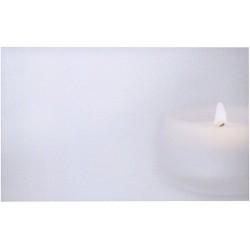 Carte de remerciement décés, deuil, funérailles, condoléances, obsèques BUROMAC 641.127