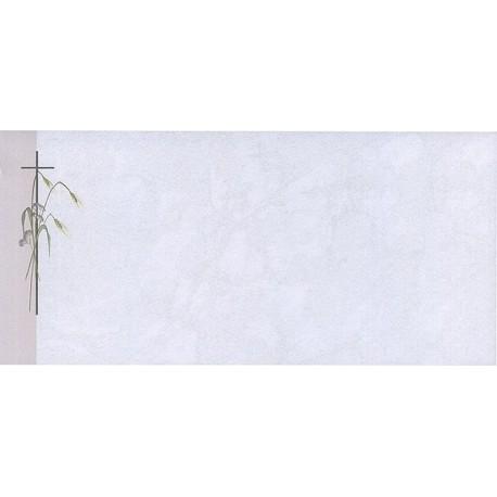 Carte de remerciement décés, deuil, funérailles, condoléances, obsèques BUROMAC 644.002