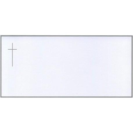 Carte de remerciement décés, deuil, funérailles, condoléances, obsèques BUROMAC 644.018